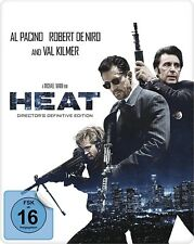 Heat - Director's Definitive Edition - Exclusive Steelbook [Blu-ray] New!!