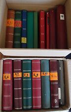 2 große Kisten Nachlass Europa, Bund Marken, Briefe 20 Alben ca. 26 Kg
