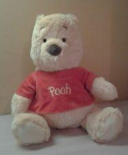 "Authentic Disney Winnie the Pooh Plush 15"" stuffed teddy bear Pooh shirt"