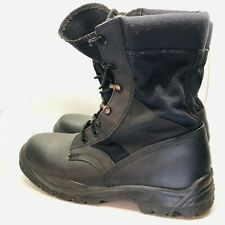 mens Wellco US Military black boots anti shock sole great conditions 10 M size