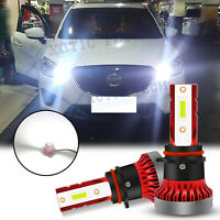 HID Xenon White P13W LED Daytime Running Lights DRL Bulb For Mazda CX-5 2013-15