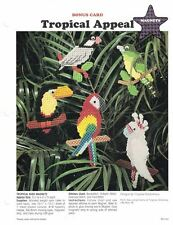 Plastic Canvas TROPICAL APPEAL Tropical Bird Magnets 5 Different Designs