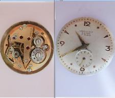 vecchio lebois eta 980 movimento movement manual old watch for part vintage dial