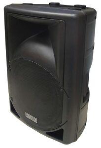 """Brand New 12"""" Woofer Professional Excellent Sound PA/DJ Moulded Speaker PP-0112"""