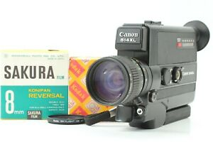 [ Exc5 ] Canon 514 XL Super 8 Movie 8mm Cine Camera 9-45mm f1.4 Film From JAPAN