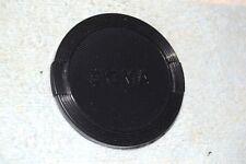 SIGMA SPRING-ACTION FRONT LENS CAP 58 mm MALE BLACK PLASTIC