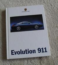 Porsche 911 996 Hardback Brochure 1998 - Carrera Coupe & Cabriolet Evolution 911