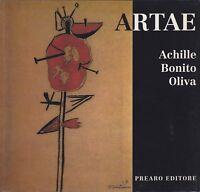 Achille Bonito Oliva, Artae, arte contemporanea, donne, 1991, Prearo, catalogo