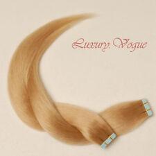 40pcs 100% Remy Hair Echthaar Haarverlängerung 3M Tape Extensions #20 Lux.Vogue