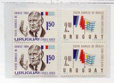 Uruguay Visita Charles de Gaulle año 1964 (CV-967)