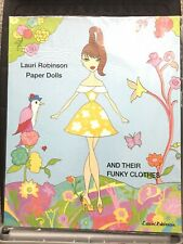 Lauri Robinson Paper Dolls and Their Funky Clothes. New Uncut