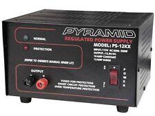 Pyramid PS12KX (PS-12KX) 10 Amp 13.8V Constant Regulated AC/DC Power Supply