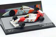 Ayrton Senna Mclaren MP4/8 #8 Gangant Australien Formule Gp 1 1993 1:43 Altaya