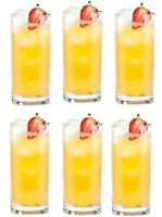 Box of 6 Norland cocktail Mojito highball glasses tall Glasses 500ml 17 1/4 oz