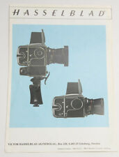 Hasselblad Distagon 60mm Lens Sales Guide Pamphlet Sheet - English - USED B97