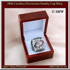 "2006 CAROLINA HURRICANES CHAMPIONSHIP RING - ""WALLIN"" SIZE 10.75"