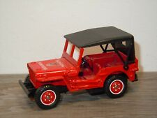 Jeep Willys Sapeurs Pompiers - Solido 1322 France 1:43 *35210