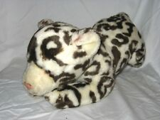 Animal Alley Toys R Us Spotted White Snow Leopard Tiger Cat Plush 13""