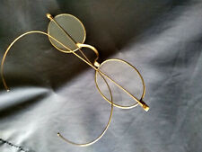 Antique Ben Franklin Eye Spectacles Eye Glasses With Wire Wrap Arms