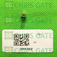 9PCS 2N4392 Encapsulation:CAN-3,N-Channel JFETs