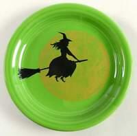 Homer Laughlin FIESTA HARVEST MOON WITCH Appetizer Plate 11182731
