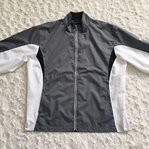 EUC* FootJoy FJ DryJoys Men's HydroLite Rain Golf Jacket Sz XL Full Zip Logo..