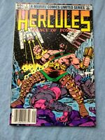 HERCULES 1 VF PRINCE OF POWER MARVEL 1982 'FOOLS' BY BOB LAYTON HIGH GRADE KEY