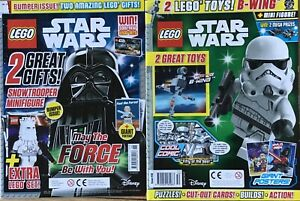 LEGO STAR WARS MAGAZINE - ISSUES 26 and 50- no LEGO