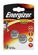 ENERGIZER 2450 BATTERY 3V LITHIUM BUTTON COIN BATTERIES ECR2450 DL2450 CR2450