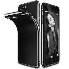 Ultradünne Gel-Hülle aus TPU - für Apple iPhone 6 Plus / 6S Plus - Tiefschwarz