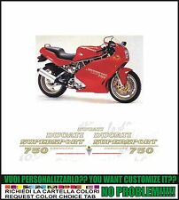 kit adesivi stickers compatibili  ss 750 supersport