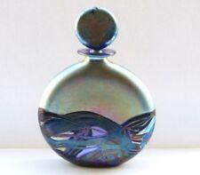 Multi Colour Bottle British Art Glass