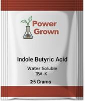 Indole 3 Butyric Acid  IBA-K 99% 25g w/Instructions Made in the USA Authentic