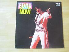 Elvis Presley LP, Elvis NOW, RCA # SF 8266,  U.K. Release, Orange label