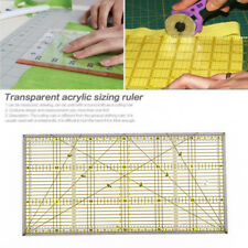 Acrylic Quilt Quilting Grid Ruler Patchwork Tailor Sewing Cutting Ruler Tool New