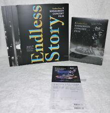 Sodagreen A Endless Story Concert Film Taiwan Live CD+Blu-ray(BD)+calendar+flyer