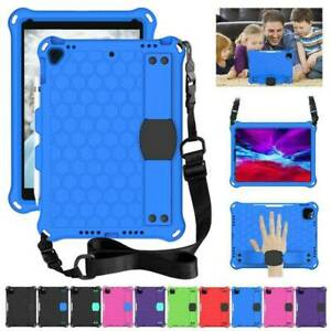For iPad 7th 8th Gen Air Pro 9.7 10.9 11 2020 Tough Foam Child Case Cover Strap