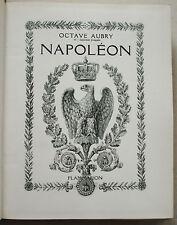 NAPOLEON Octave AUBRY éd Flammarion 1942
