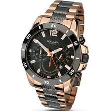 Gents Sekonda Rose Gold & Grey Chronograph Watch 1006