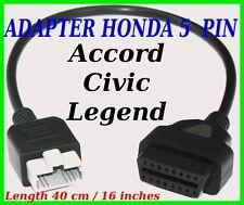 Honda 5 PIN adapter lead OBD diagnostic cable