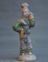 """9.2 """"servante de la dynastie des Poteries Sancai China Antique"""