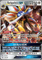 Solgaleo GX 89/149 SM Base Set Holo Ultra Rare Pokemon Card NEAR MINT TCG