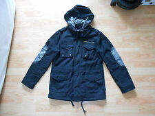 Alpha Industries McArthur Field Coat, Black, Size Small