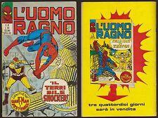 L'UOMO RAGNO 40 IL TERRIBILE SHOCKER -CORNO 28/10/1971 + GIANT-MAN  E DR.STRANGE