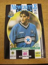 29/10/1996 Newcastle United v Ferencvaros [UEFA Cup] (Faint Crease). Item in ver