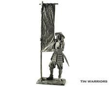 Ashigaru. Japan. Tin toy soldiers. 54mm miniature figurine. metal sculpture