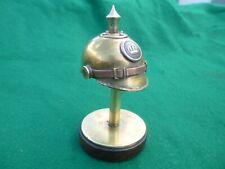 Trench Art, Brass Pickelhaube Lighter