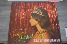 Kacey Musgraves Pageant Material SIGNED Record Vinyl COA BAS cd golden hour
