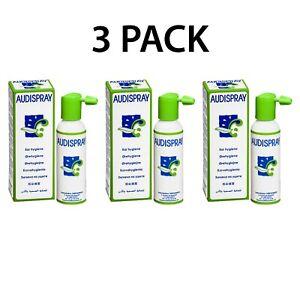AudiSpray Ear Hygiene 50ml (VALUE PACK)