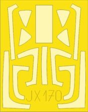Eduard 1/32 Douglas A-1H AD-6 Skyraider Paint Mask # JX170